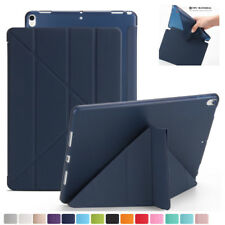 Origami Ultra Slim Leather +TPU Magnetic Cover Case For iPad 2 3 4 Air Mini Pro
