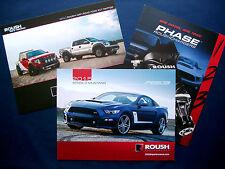 Prospekt brochure 2013/2015 Ford Mustang * f-150 Raptor roush (estados unidos) - 3er set