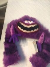 "Disney Monsters University Art Plush Stuffed Toy 12"" Purple Monster Monsters Inc"