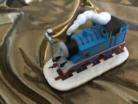 2004 Hallmark Thomas the Tank Engine Christmas Crossing  and Friends Ornament