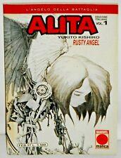 ALITA n. 1 Rusty Angel (Marvel Manga 1997) Yukito Kishiro come nuovo!