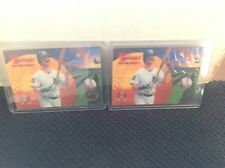1995 Pinnacle Sportflix UC3 Artist's Proof #20 Don Mattingly Yankees & Base Card