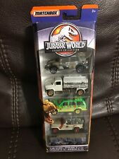 Matchbox Jurassic World Island Explorers Legacy Collection 5 Pack