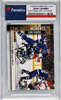 John Tavares Toronto Maple Leafs 2018-19 Upper Deck Game Dated Moments #46 Card