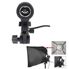E27 Strobe Bulb Umbrella Holder Socket Studio Photo Light Stand Adapter