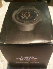 SUUNTO AMBIT3 SPORT BLACK HR GPS Watch Running Cycling Swimming Sports
