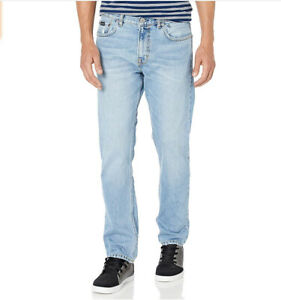 $65 Quiksilver Men's Modern Wave Salt Water Straight Fit Jeans Blue Size 38X32