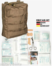 Molle First Aid Kit IFAK Modular Erste Hilfe LEINA 43 tlg Modular large coyote