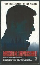 Mission: Impossible Peter Barsocchini Pocket Books 1996 Paperback Good Condition