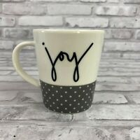 Ellen Degeneres Joy Royal Doulton London 15oz. Coffee Mug Cup Polka Dot Base
