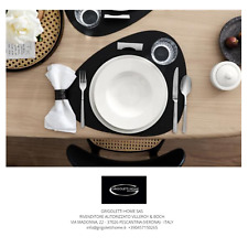 Piatti Wonderful World White/Twist White - Villeroy & Boch - 12 pezzi 4 persone