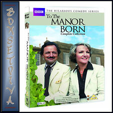 TO THE MANOR BORN - COMPLETE BBC COLLECTION ***BRAND NEW DVD BOXSET***