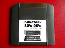 Zippé Iomega années 80 années 90 sons pour Kurzweil k2600 k2500 k2661 k2000r k2600r k2500r