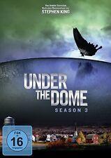 UNDER THE DOME-SEASON 3 - MIKE VOGEL, RACHELLE LEFEVRE -  4 DVD NEU