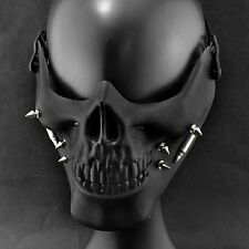 Spike Skull Face Mask Cosplay Custome Performance Rock Mask