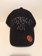 San Antonio Spurs Tim Duncan 21 Hat Like New