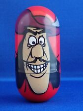 """#8 Captain Hook Kellogg Walt Disney 2005-2006 3"""" Tall Weebler Wobbler Bean Beanz"""