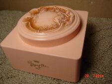 Vintage White Shoulders Bath Powder Box Art Nouveau Older EMPTY USED No Puff