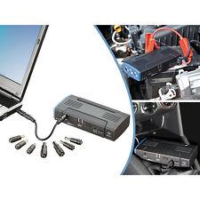 revolt Notebook-Powerbank mit Kfz-Starthilfe & 2x USB, 12.000 mAh / 400 A