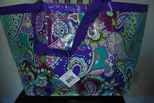 NWT VERA BRADLEY HEATHER SHOPPERS TOTE MARKET TOTE RARE