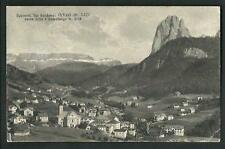 Ortisei ( Bolzano ) : Val Gardena - cartolina viaggiata nel 1929