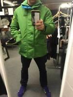 Brand new  henri lloyd x olmes carretti consort jacket in green  rrp£345 Medium