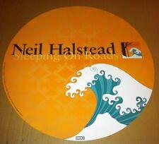 Mojave 3 NEIL HALSTEAD 2002 CIRCULAR PROMO POSTER of Sleeping Roads CD Slowdive