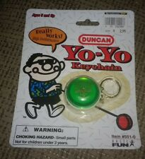 1998 Classic Duncan Key-chain Imperial Yo Yo BRAND NEW FACTORY SEALED Green OLD!