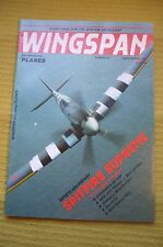 Wingspan Incorporating Planes No. 31 Mar/Apr 1986 VGC - Spitfire Supreme