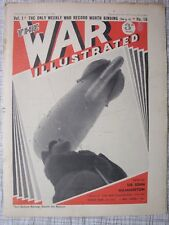 The War Illustrated #18 (Finland Heligoland, Me 110, Mussolini, Trawler Attacks)