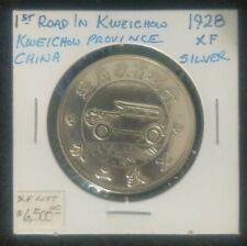1928 China Silver Dollar $1,Guizhou Province Car commemorative Coin,100% Silver
