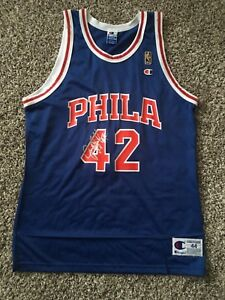 Jerry StackhouseSigned AutographedSixers 50th Anniversary Basketball Jersey