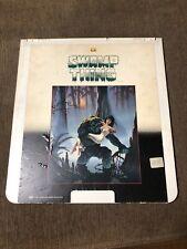 SWAMP THING - CED Videodisc Selectavision