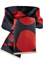 Nuovo con Scatola-Stella McCartney Rosso & Nero in raso stampato cintura in vita. RRP £ 300
