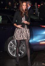 Zara pizzo beige e nero, abito taglia S e M AS Seen on, splendida