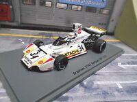 F1 BRABHAM BT42 Ford V8 Co Belgien GP 1974 #34 Pilette Hitachi Spark Resin 1.43