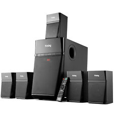 Frisby Audio Home Theater 5.1 Surround Sound System with Subwoofer and Bluetooth