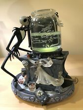 Nightmare Before Christmas Jack Skellington Zero Lab Musical Light Up Snow Globe