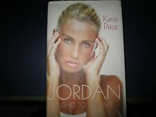 Katie Price (Jordan) 'Pushed To the Limit' Signed Copy dedicated Hardback
