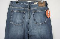 VINTAGE Mens GAP Jeans STRAIGHT Regular Fit BUTTON Fly DISTRESSED W32 L34  P5