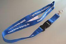 BMW Ramo Lipsia Chiave Cordicella Nastro NUOVO (Z46)