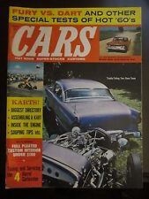 Cars Magazine January 1960 Vol. 1 No. 2 Karts Fury vs. Dart Super Stocks (K)