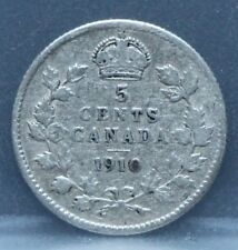 Canada - 5 five cents 1910 - KM# 13