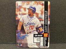 New listing MLB Showdown 2002 Gary Sheffield Los Angeles Dodgers #176 Baseball Card MLB!