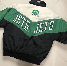 New York Jets Vintage Windbreaker Insulated Jacket NFL 90s Logo 7