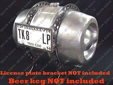 Beer Keg Gas Tank Fuel Mounting Bracket Hot Rat Rod 15.5 Gallon RAW STEEL NO LP