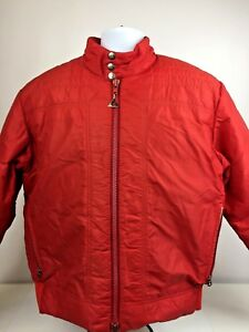 Vtg GERRY DENVER Colorado Coat Jacket Ski Red MEN'S Puffer USA Size L