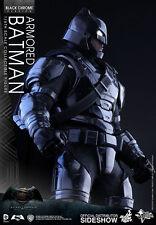 HOT TOYS Exclusive Batman v Superman BVS Armored Batman Black Chrome Version 1/6