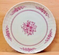 """Hutschenreuther """"Pink Bouquet"""" Pattern Round Serving Plate."""