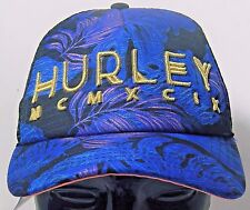 26c2cb2902f HURLEY MCMXCIX Snapback Embroidered Mesh Trucker Hat NWT New